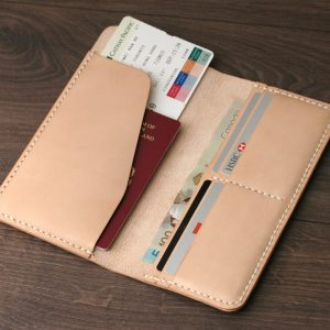 Leather Passport Cover, Personalized Passport Wallet, Handmade Leather Passport Cover