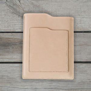 Genuine Leather iPad Case, Leather Handmade Tablet Cover, iPad Bag, Vegetal Beige Color - Handmade item - Leather iPad Case - Leather Tablet Case - iPad Sleeve - Genuine Leather iPad Cover - Vegetal Beige Color
