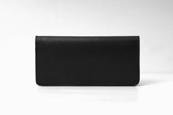 Leather Portfolio Wallet,Credit Card And Money Holder,12 Slot Credit Card Wallet, Black - Leather Wallet - 12 Slot Credit Card Holder - Bifold Wallet & Card Holder - Leather Travel Wallet